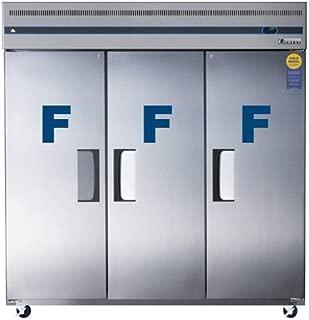 Everest ESF3 Three Door Freezer, 74.75L x 31.63W