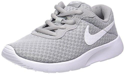 Nike , Jungen Sneaker, Gris (Wolf Grey / White White), 33.5 EU