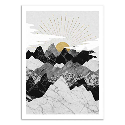 Wall Editions Art-Poster - Sun Rise - Kookie Pixel