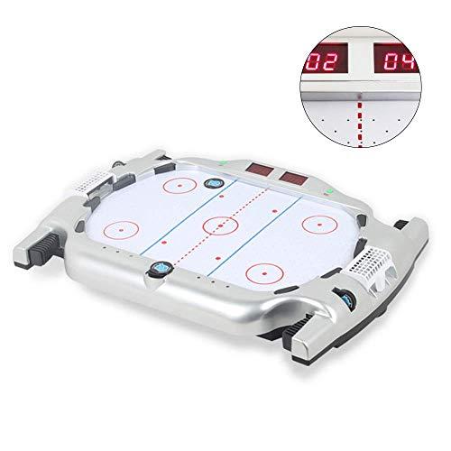 Drijvend Spel Van Het Ijshockey Board, Mini Tabletop Pucks Met Muziek Digital Scorer, Children's Educatief Speelgoed