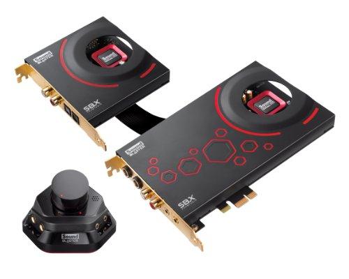 Creative Sound Blaster ZxR Scheda Audio Interna PCI-Express con Figlia Dbpro e Modulo ACM, Nero