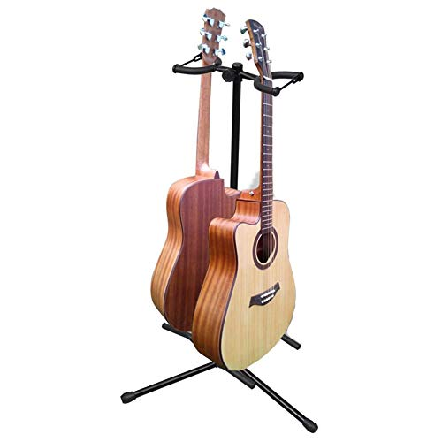 Soporte universal doble para bajo, guitarra eléctrica, guitarra clásica, guitarra acústica, soporte...