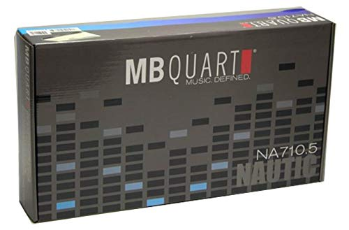 Best Review Of MB Quart Nautic NA710.5 710W 5 Channel Marine Water Boat ATV Amplifier (4 Pack)