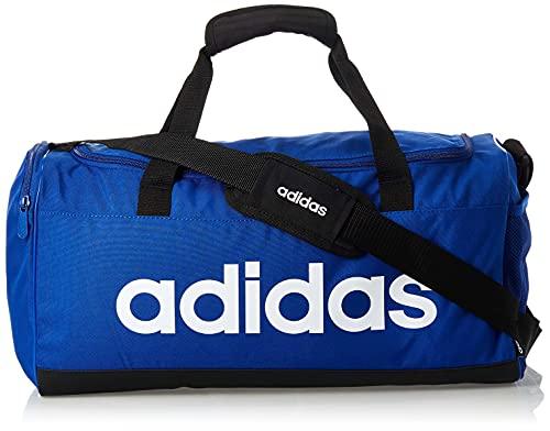 adidas Uni LIN Duffle S Gym Bag, Team royal Blue/Black/White, NS