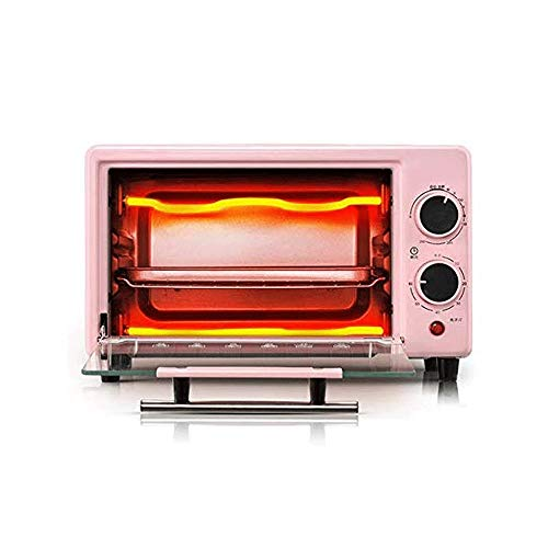 JYKXA Piccoli elettrodomestici forno elettrico, cucina utensili di cottura, multifunzionale, squisito e compatto in acciaio inox riscaldamento del tubo, a prova di esplosione portello di vetro, doppio