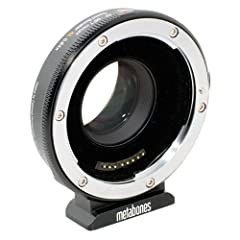 Canon EF Lens to Micro 4/3 Body Supports In-Camera Aperture Control 0.64x Micro 4/3 Crop Factor Compensation 1.3-Stop Increase in Lens Apertures 6 Optical Elements in 4 Groups