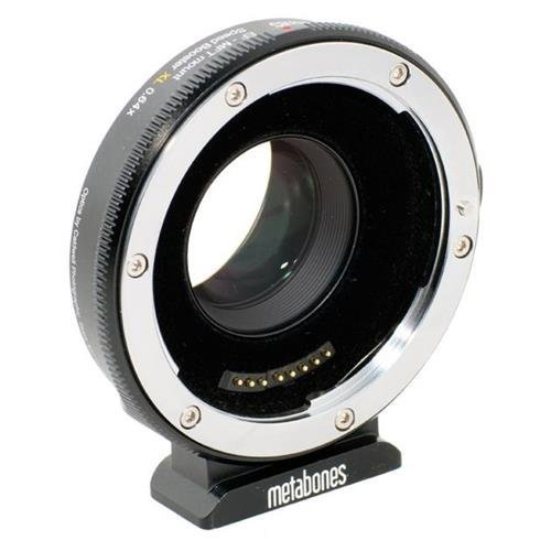 Metabones Canon EF to Micro FourThirds T II Speed Booster XL 0.64x (Black Matt)