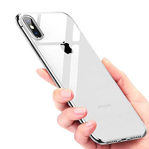 Ubegood iPhone X Coque, Crystal Housse, Souple Coque Anti-rayures...