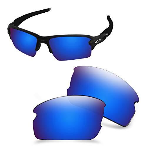 AOZAN Lentes de repuesto ANSI Z87.1 compatibles con gafas de sol Oakley Flak 2.0 XL OO9188