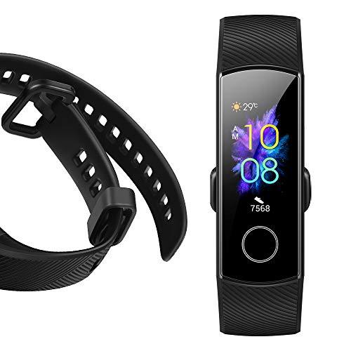 Honor Band 5 wasserdichter Bluetooth Fitness Aktivitätstracker mit Herzfrequenzmesser, AMOLED-Farbdisplay, Touchscreen, Meteorite Black - 5