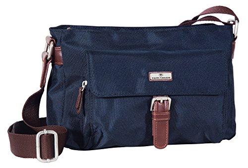 TOM TAILOR Umhängetasche Damen RINA, (blau 50), 26x14x8 cm, TOM TAILOR Handtaschen, Taschen für Damen, klein