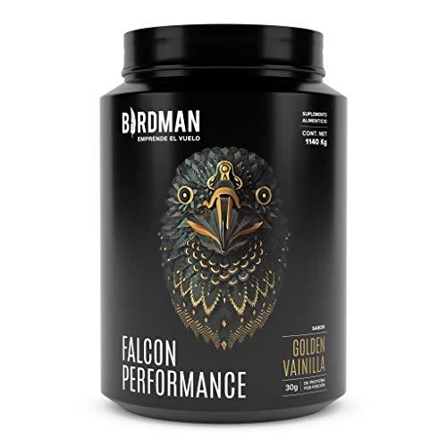 Birdman Falcon Performance Proteina Premium En Polvo, 30gr proteina, 3gr Creatina, 30 Porciones Sabor Golden Vanilla 1.14 kg