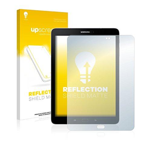 upscreen Entspiegelungs-Schutzfolie kompatibel mit Samsung Galaxy Tab S3 WiFi – Anti-Reflex Bildschirmschutz-Folie Matt