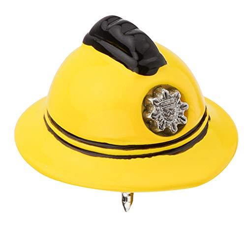 Colcolo Broche de Casco de Seguridad Amarillo para Hombre Y Mujer