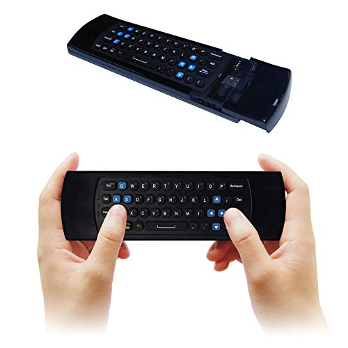 PrinceShop - 2.4G Mini Wireless Air Keyboard Mouse with Infrared Remote Learning 3-Gyro+3-Gsensor for gaming/Smart TV/IPTV/TVBOX/XBOX 360