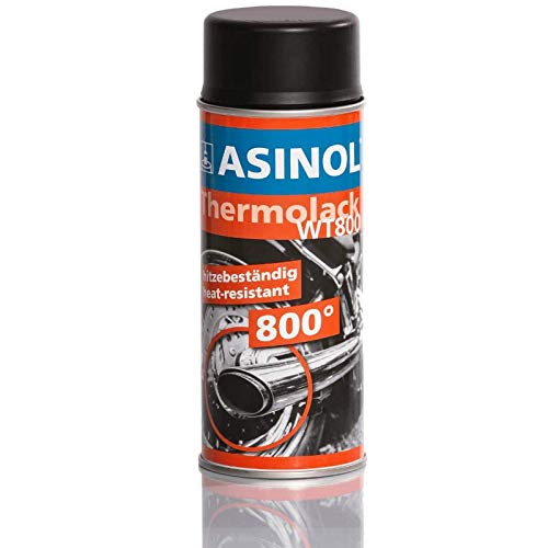 Auspufflack Schwarz 800° - Matt Spray 400 ml