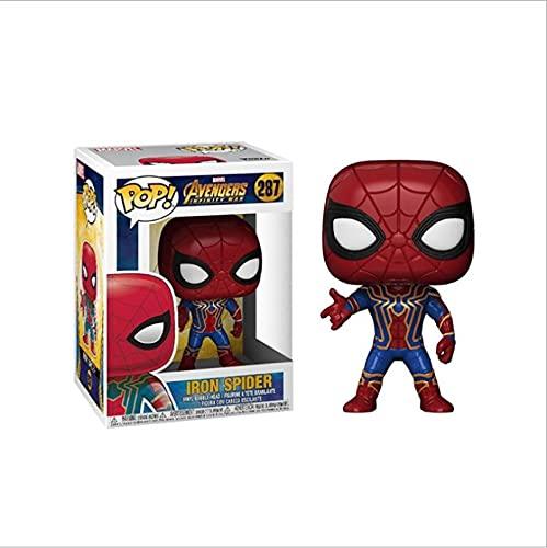 Pop Marvel Avengers Spider Man # 287 Figuras De Acción De Vinilo Colección De Juguetes Modelo como...