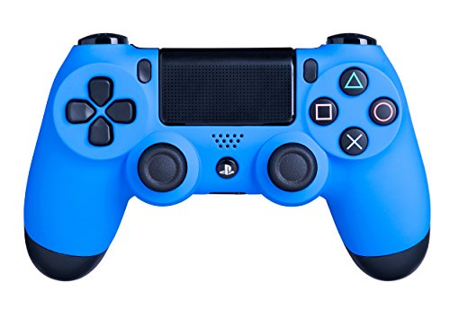 DualShock 4 Wireless Controller for PlayStation 4 - Soft Touch Blue PS4 - Added Grip for Long Gaming Sessions - Multiple Colors Available