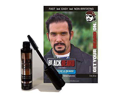 Blackbeard for Men - temporary brush on colour 12ml (0.40oz) BLACK (BLK-BRDBLK)