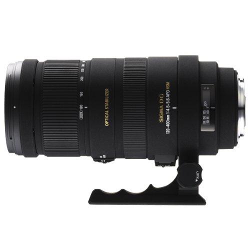 Sigma 120-400mm F4.5-5.6 DG APO OS HSM Sony/Minolta - Objetivo (21/15, Negro, 9,25 cm, 7,7 cm, 20,35 cm)