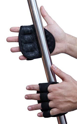 Neotrive fitness handschuhe Griffpolster Griffpads Handpolster Gloves Für Krafttraining Bodybuilding Gym für Damen & Herren