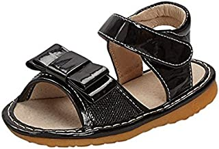 Sneak A' Roos Little Girls Squeaky Toddler Sandal