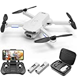 4DRC F8 GPS Drone with FPV Camera Live Video for Adults,4K Drone Quadcopter with Brushless Motor, GPS Auto Return Home, Follow Me, 40 Minutes Flight Time,