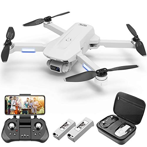 4DRC F8 GPS Drone with FPV Camera Live Video for Adults,4K Drone Quadcopter with Brushless Motor, GPS Auto Return Home, Follow Me, 40 Minutes Flight Time