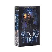 Witches Tarot 完全英語版のタロットデッキとEGuideブックEinstructionカードゲーム運命告知ゲームセット運命予測カードゲーム