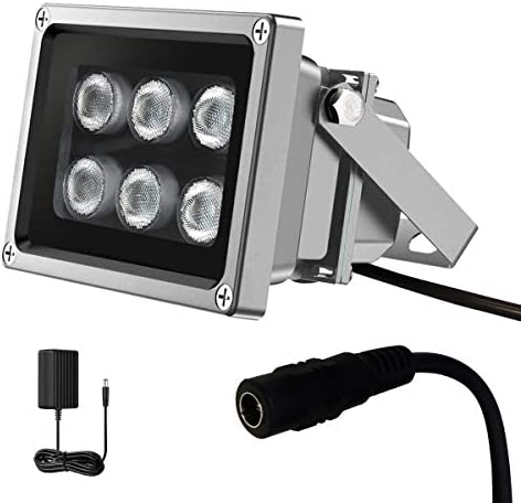 IR Illuminator 850nm 6 LED IR Illuminators Ir Lights for Security Cameras Long Range Infrared product image