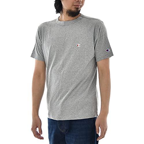 『[チャンピオン] Tシャツ 半袖 綿100% 定番 ワンポイントロゴ刺繍 ショートスリーブTシャツ C3-P300 メンズ ホワイト M』の7枚目の画像