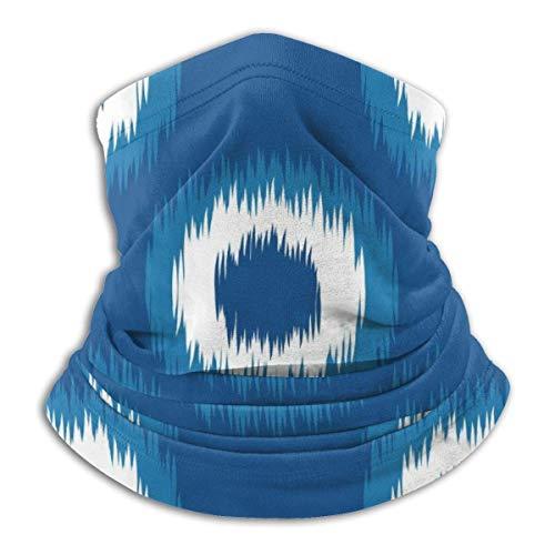ASDAH Faux Tie Dye Weave textiel naadloze vector achtergrond tegels hals warmer winter sjaal