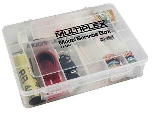 Unbekannt Multiplex Model-Service-Box–Teilen von Spielzeug (Mehrfarbig)