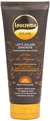 Körpersonnenschutz Sonnenmilch con olio