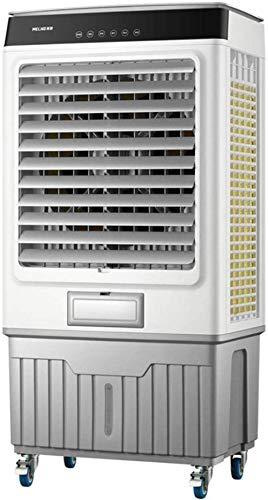 Fan de Agua Industrial Enfriador de Aire Comercial refrigerador evaporativo 40 litros Tanque de Agua 9000 M3 / H Refrigeración rápida Aire Acondicionado Aire Acondicionado Gris (Tamaño: Modelos m