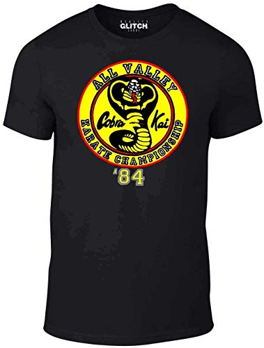 Mens Cobra Kai T-Shirt Gift Judo Kung Fu Karate Film Movie Box Set Cult