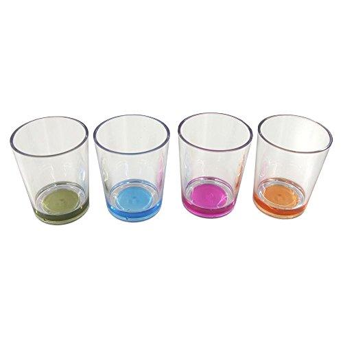 BRUNNER Multiglass Color Trinkgläser Set 2021 Trinkflasche