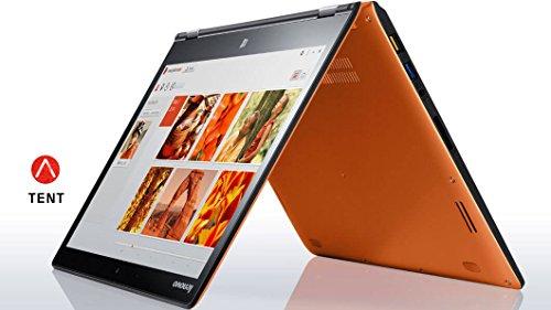 Lenovo Yoga 3 2-in-1 1470 80JH00LNUS Orange ( 14' FHD Mult-Touch, i5-5200U 2.2GHz, 8GB RAM, 256GB SSD, Bluetooth 4.0, 720p Camera, Windows 10 Home 64)