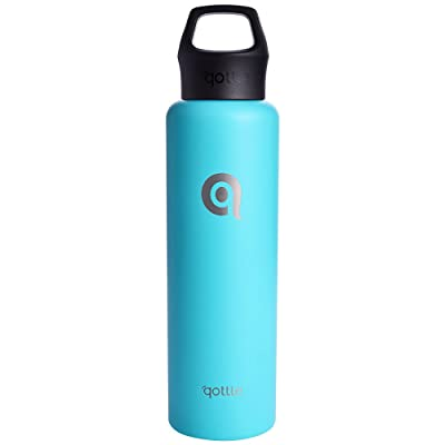 qottle Insulated Water Bottle - Double Wall Vac...