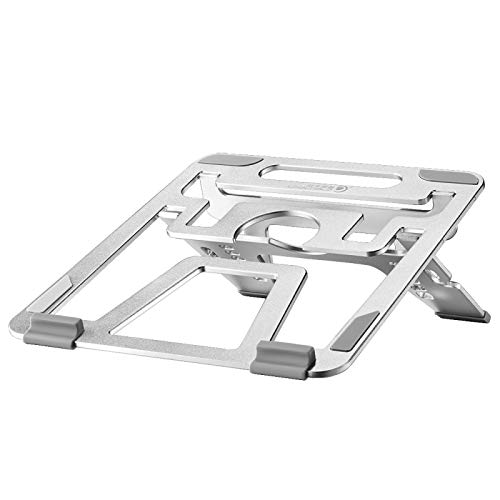 and practical U2S Portable Foldable Hollow Double Triangle Height Adjustable Aluminum Alloy Bracket for Laptop