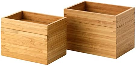 Best bamboo boxes ikea Reviews