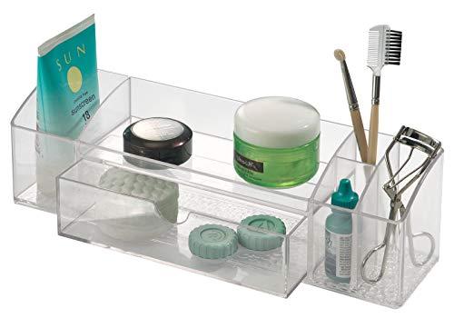 InterDesign Med+ Organizer,  12-Inch Drawer Caddy, Clear