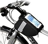 Bolsa Universal para Scooter Eléctrico, Bolsa Impermeable para Scooter, Protector De Pantalla Táctil MTB Moutain Road Bike Bag, para Teléfonos Inteligentes por Debajo De 6.5
