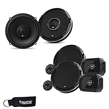 JBL - Stadium GTO600C 6.5-Inch Component Speakers and a Pair of Stadium GTO620 6.5-Inch Coaxial Speakers