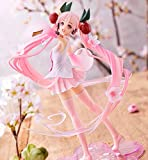 Anime Statue Action Figure , Hatsune Miku Pink Clothes, Beautiful Girl Removable Action Figure Adult Collection Anime Figures Gift