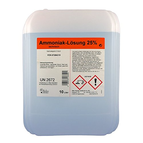Ammoniaklösung 25% techn. 10 L