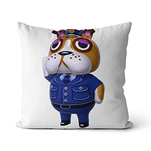 Funda de cojín Animal Crossing Fundas de Almohada Decorativas Fundas de Almohada de impresión Ropa de Cama de Moda Suministro para el hogar Decoración de sofá 18x18 Pulgadas