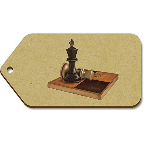 Azeeda 10 x Groß \'Schachfiguren\' Hölzerne Tags (TG00089762)
