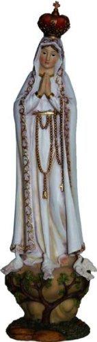 Virgen Fatima, Altura 22cm, Handbemalen