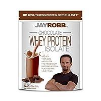 Jay Robb - ホエー蛋白質分離パウダー チョコレート - 24ポンド